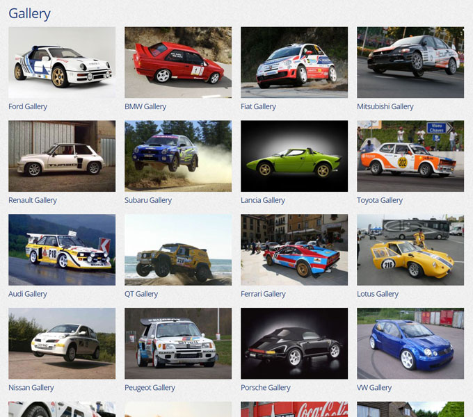 Compomotive Gallery on Desktop