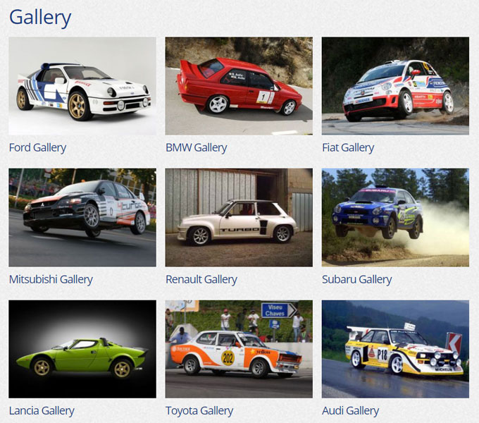Compomotive Gallery on Tablet