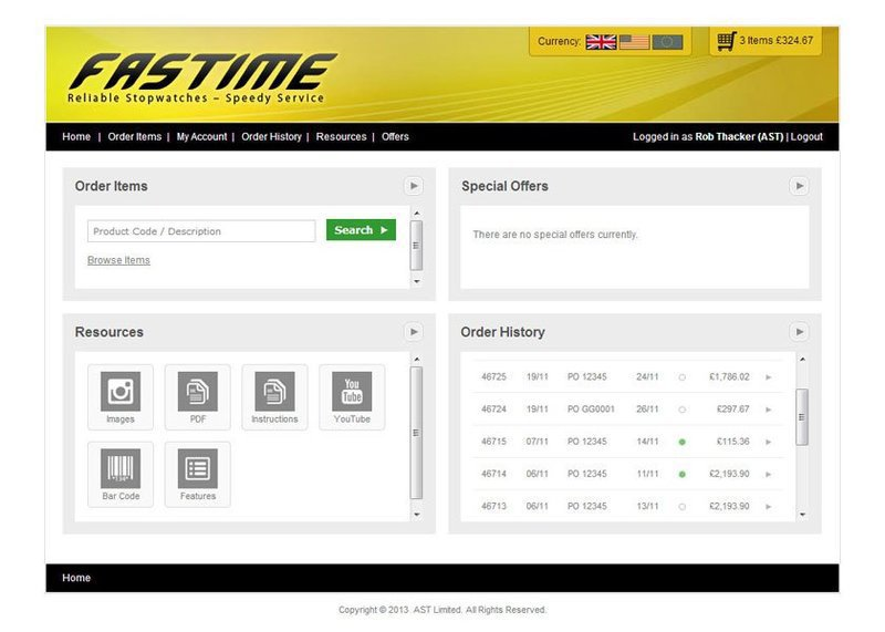 Trade Customer Management and Wholesale Ordering