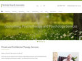 Gallery Screenshot for A website to promote therapy services online
