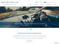 Gallery Screenshot for Responsive site for motorists legal defence