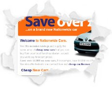 Nationwide Cars Website is optimised by spiderscope