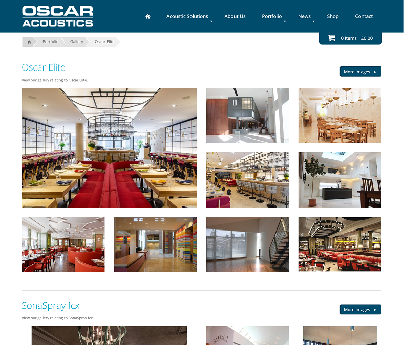 The Oscar Acoustics Gallery